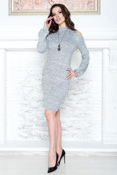 Платье с открытыми плечами Angela Ricci со скидкой