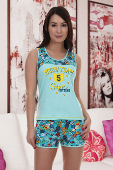 Новинка: пижама с шортами Натали