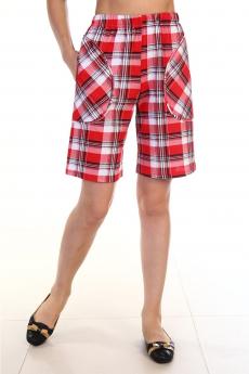 Клетчатые женские шорты Вилана